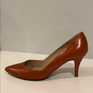 J CREW Valentina Brown Pumps Size 8.5